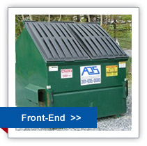 Front of Dumpster- Rentals and Recycling in Maryland
