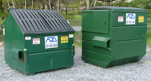 large dumpster rental and recycling in maryland