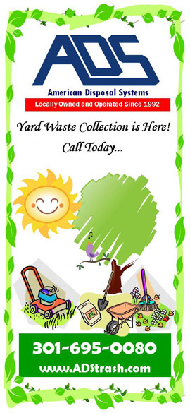 Call for Yard Waste Recycling and Pickup in MD